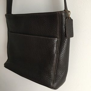 Coach Bags - Coach | Vintage Dark Brown Shoulder Bag